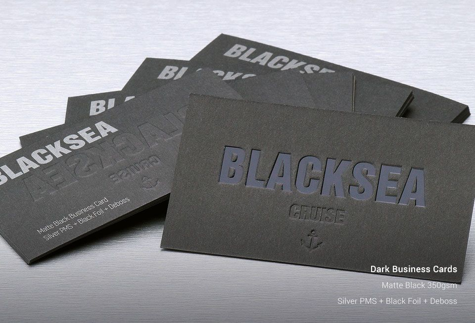 Dark business cards stickerdot previous next reheart Gallery