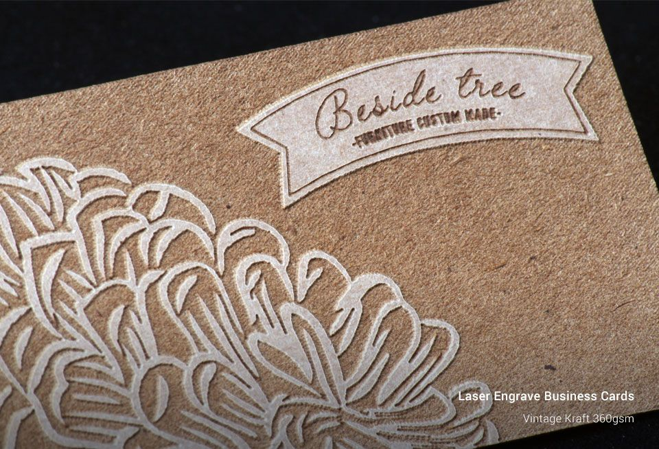 Laser Engrave Business Cards | New Zealand Business Card Printing ...