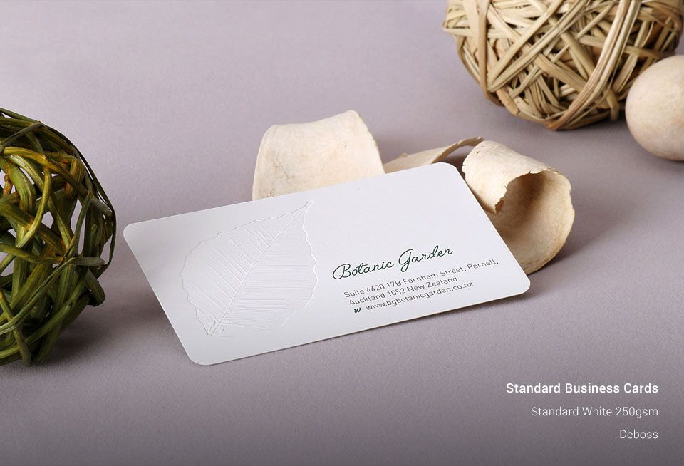 Cheapest Standard Business Cards | Auckland Business Cards | StickerDot