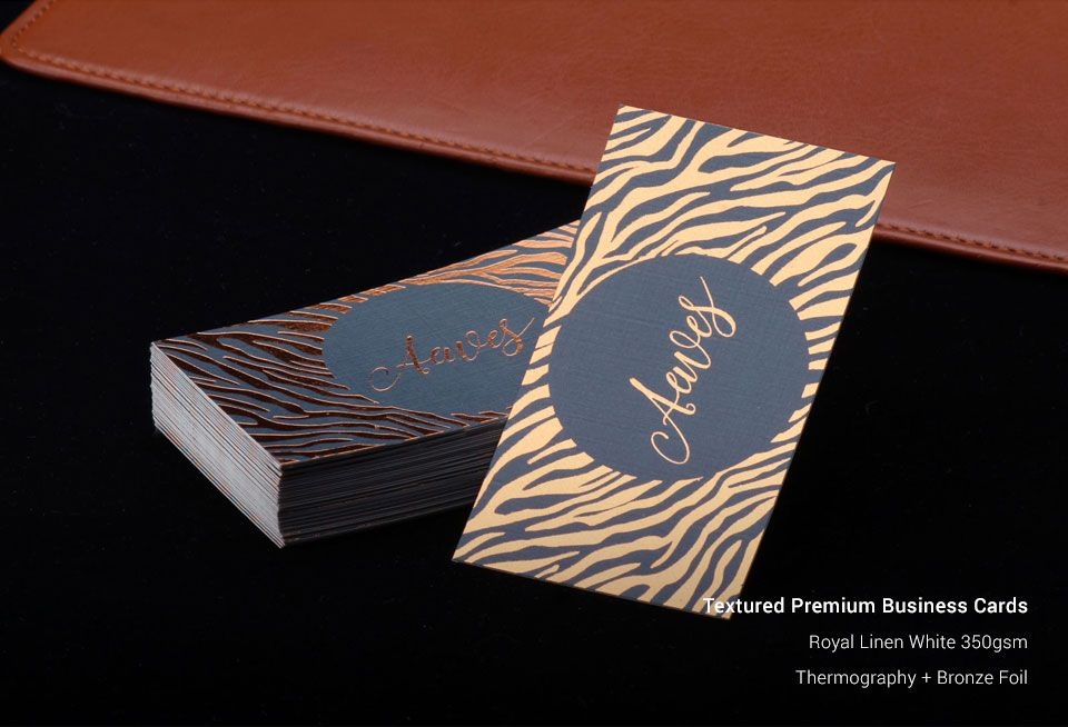 Textured Business Cards   Business Card Printing   StickerDot