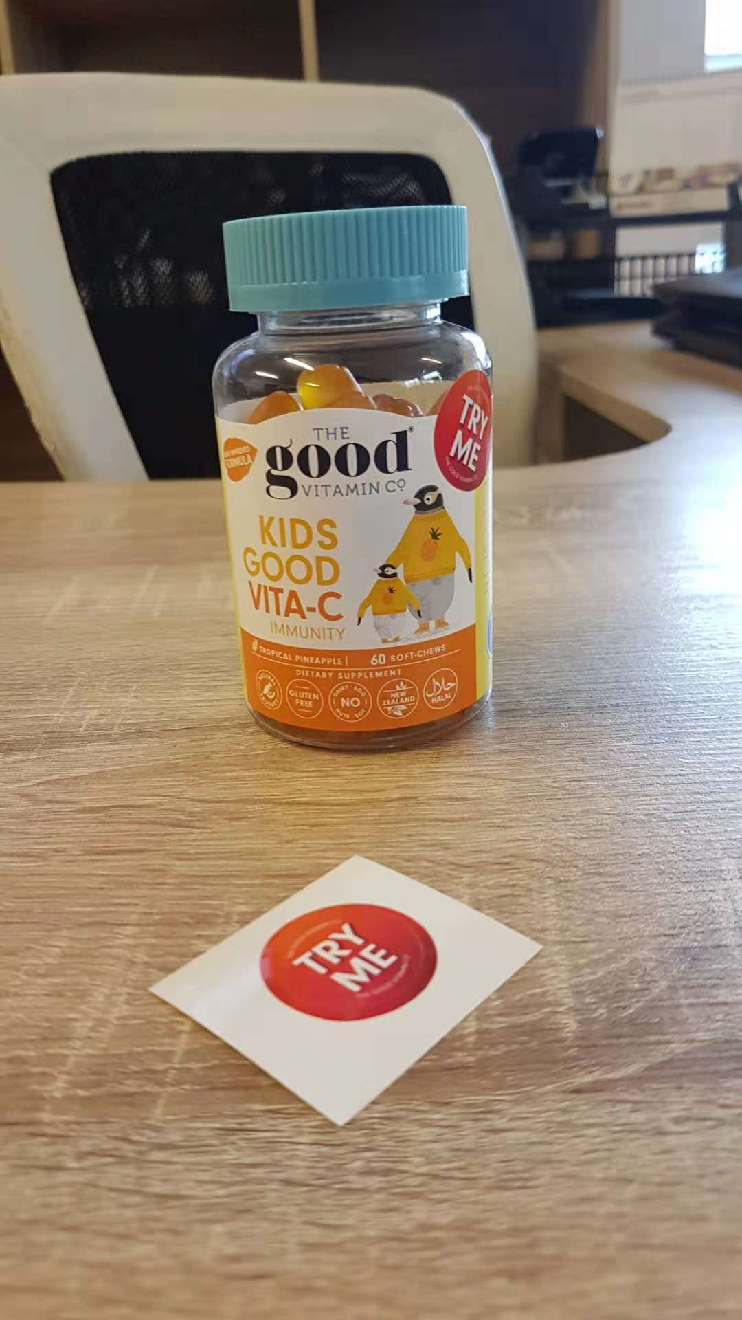 The Good Vitamin Co. Sticker Testimonial