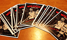 Stickers for Maloney's Barber Shop