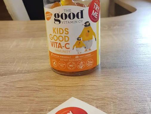 The Good Vitamin Co. Sticker Testimonial