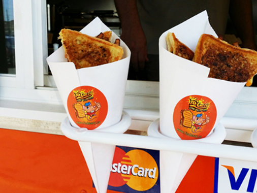 Fo'Cheezy Food Truck Stickers