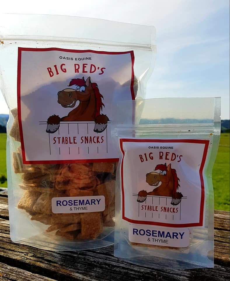 Big Red Stable Snaks Custom Stickers