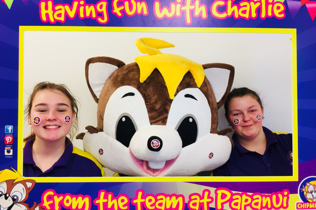 Chipmunks Playland and Care Custom Art Stickers