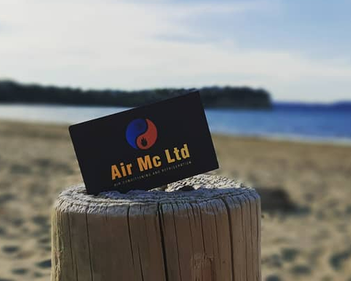 How Business Cards Help Air Mc Ltd Promote Services